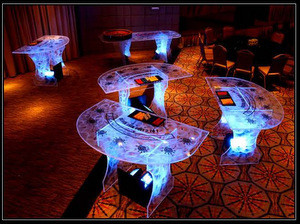 Acrylic gaming tables